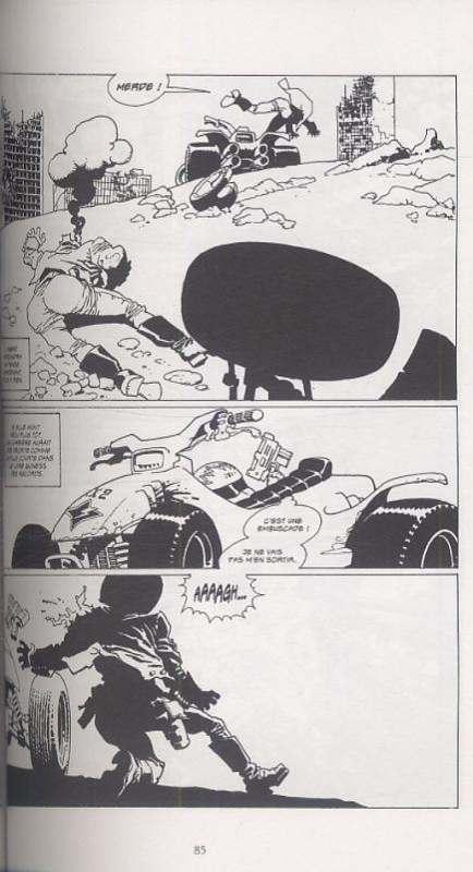 Point de rupture T2, comics chez Delcourt de Trillo, Risso