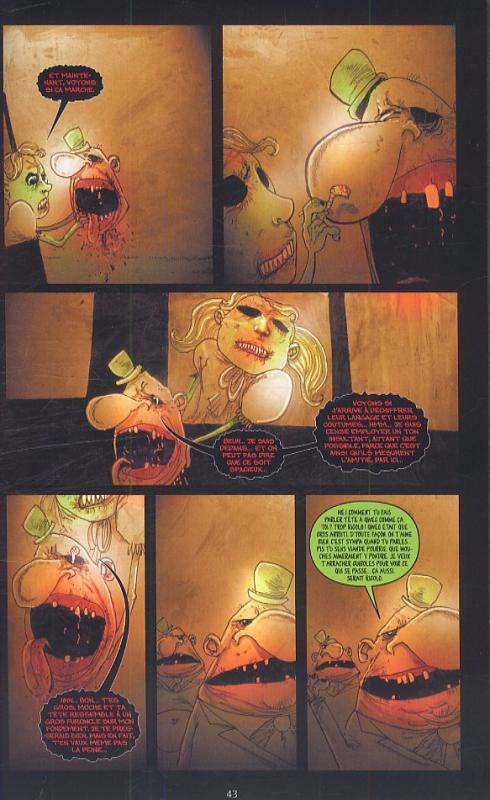 Wormwood T2 : Ça fait mal quand je fais pipi (0), comics chez Delcourt de Templesmith