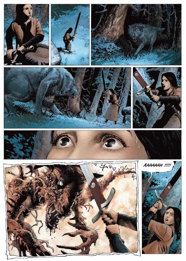 Marie des dragons T1 : Armance (0), bd chez Soleil de Ange, Demarez
