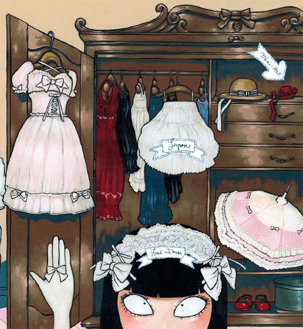 Gothic Lolita, bd chez Soleil de Alwett, Amoretti