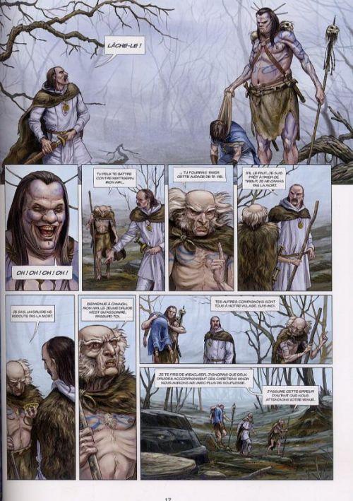 Les druides T5 : La Pierre de Déstinée (0), bd chez Soleil de Istin, Jigourel, Lamontagne