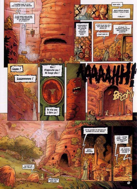 Les terres de Sienn T2 : Le Souffl e d'Absynthe (0), bd chez Soleil de Pona, Istin, Gomes, Stambecco