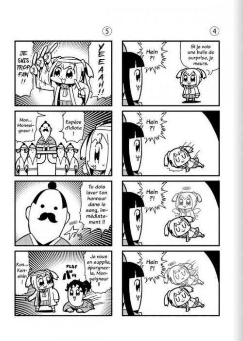 Pop team epic, manga chez Meian de Okawa