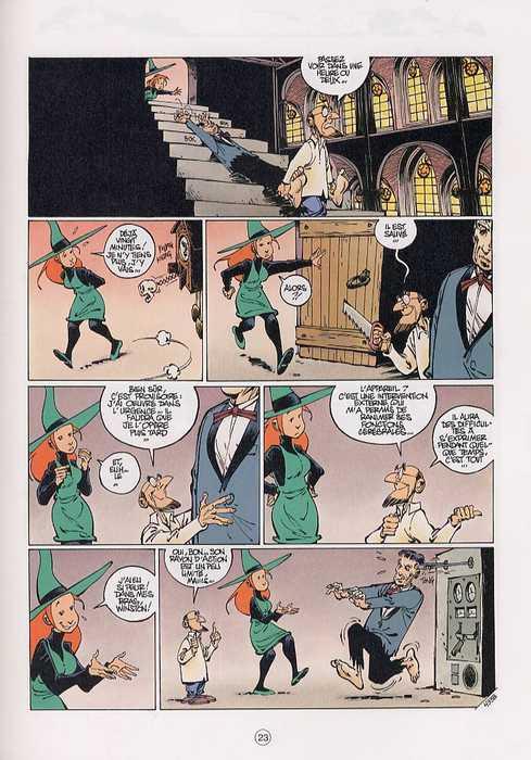 Mélusine T12 : La belle et la bête (0), bd chez Dupuis de Gilson, Clarke, Cerise