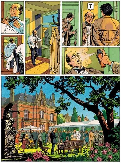 Lady S. T1 : Na zdorovié, Shaniouchka ! (0), bd chez Dupuis de Van Hamme, Aymond