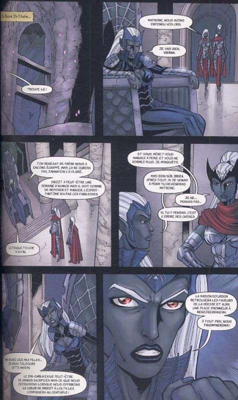 Dungeons & Dragons - La légende de Drizzt T2 : Terre d'exil (0), comics chez Milady Graphics de Dabb, Salvatore, Seeley, Blond, Lockwood