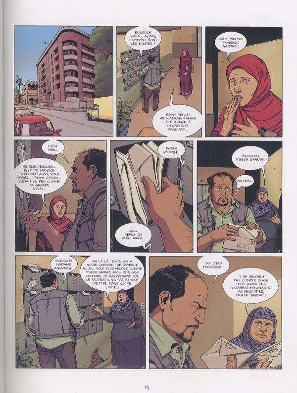 Shahidas T1 : Le Fruit du mensonge (0), bd chez Bamboo de Galandon, Volente, Smulkowski