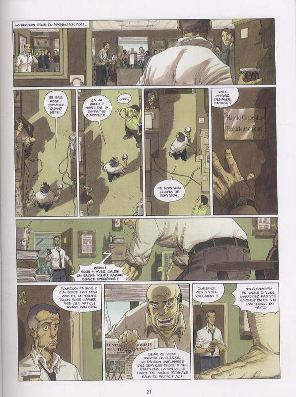 Le messager T5 : Le Secret de la Lance (0), bd chez Bamboo de Richez, Mig, Aurelia, Sad