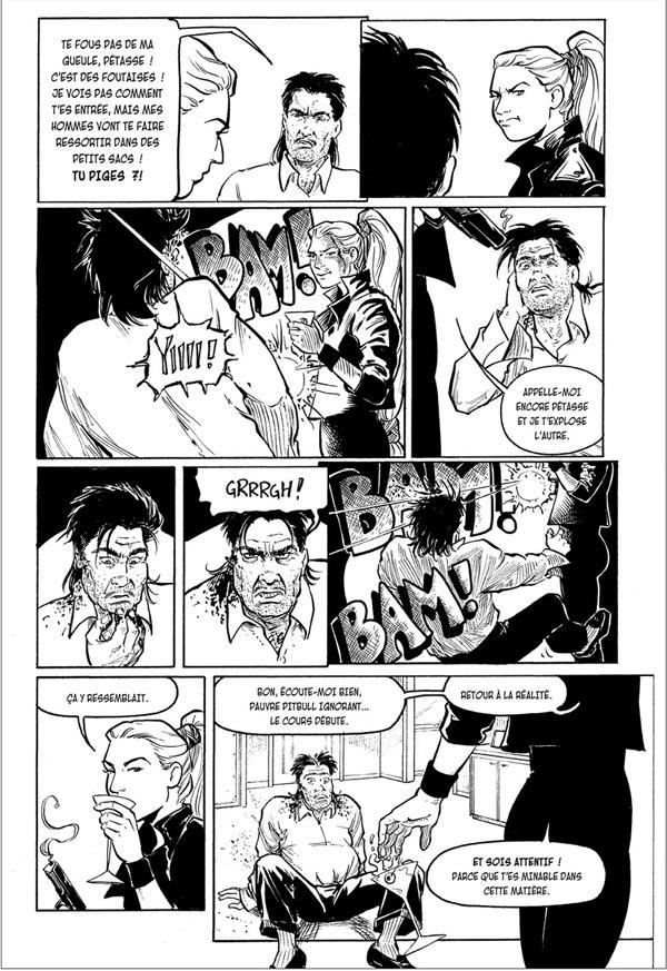 Strangers in paradise – cycle , T13 : Fleur et flamme (0), comics chez Kyméra de Moore