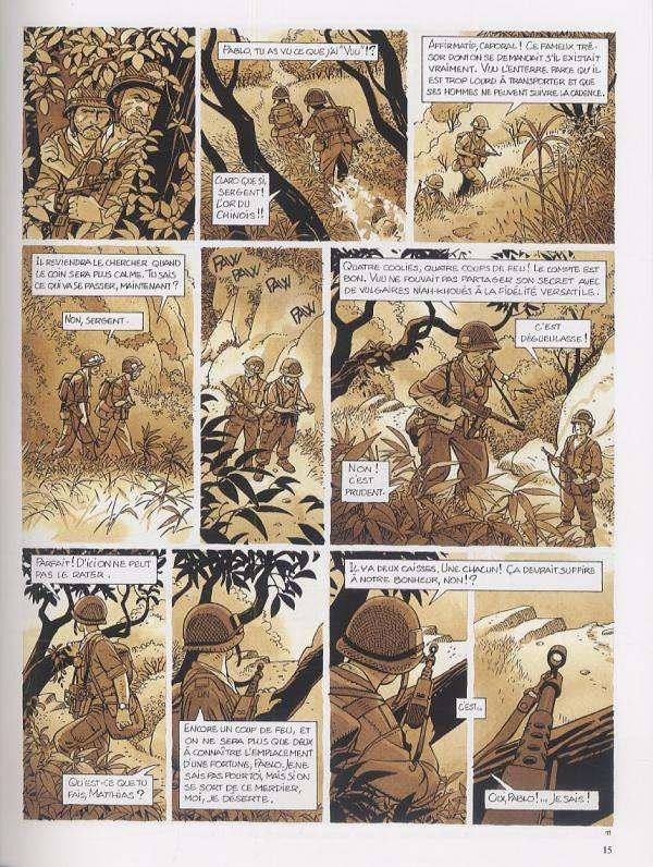 Tramp – cycle 3 : Cycle asiatique, T9 : Le trésor du Tonkin (0), bd chez Dargaud de Kraehn, Jusseaume