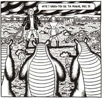 Dungeon quest T1, comics chez L'Association de Daly