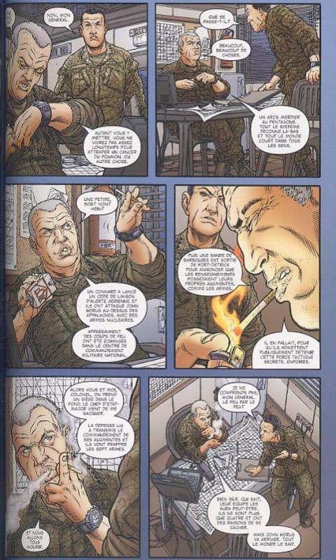 Black Summer, comics chez Milady Graphics de Ellis, Juan Jose Ryp, Mossa