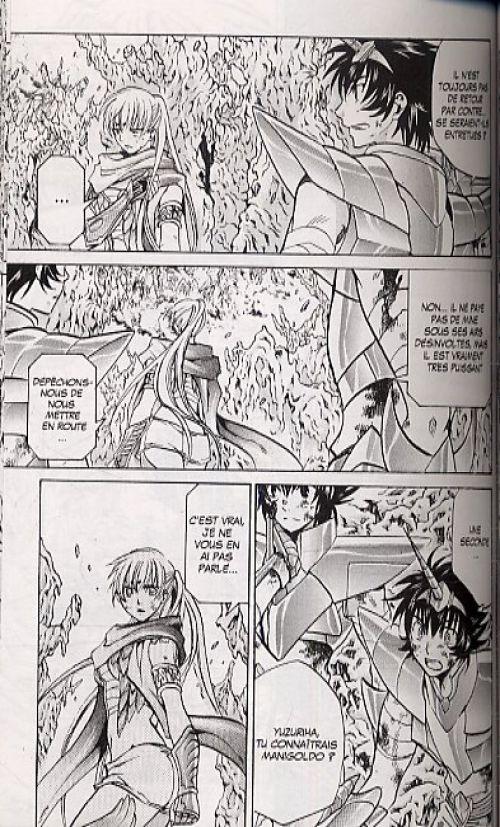 Saint Seiya - The lost canvas  T8, manga chez Kurokawa de Teshirogi, Kurumada