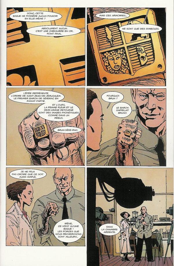 La Brigade Chimérique T3, comics chez L'Atalante de Colin, Serge Lehman, Gess, Bessonneau