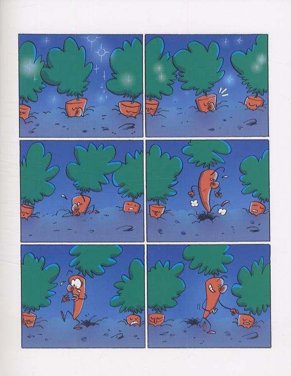 Rorotte la carotte T1 : Touche pas à ma citrouille (0), bd chez Milan de West