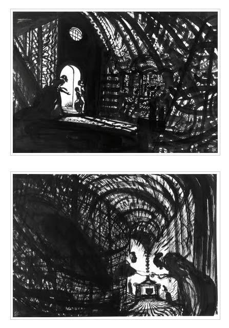 Hänsel et Gretel, bd chez Gallimard de Mattotti
