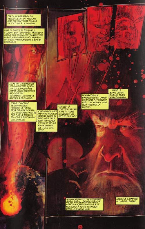 Moby Dick, comics chez ¡ éditions ! de Sienkiewicz