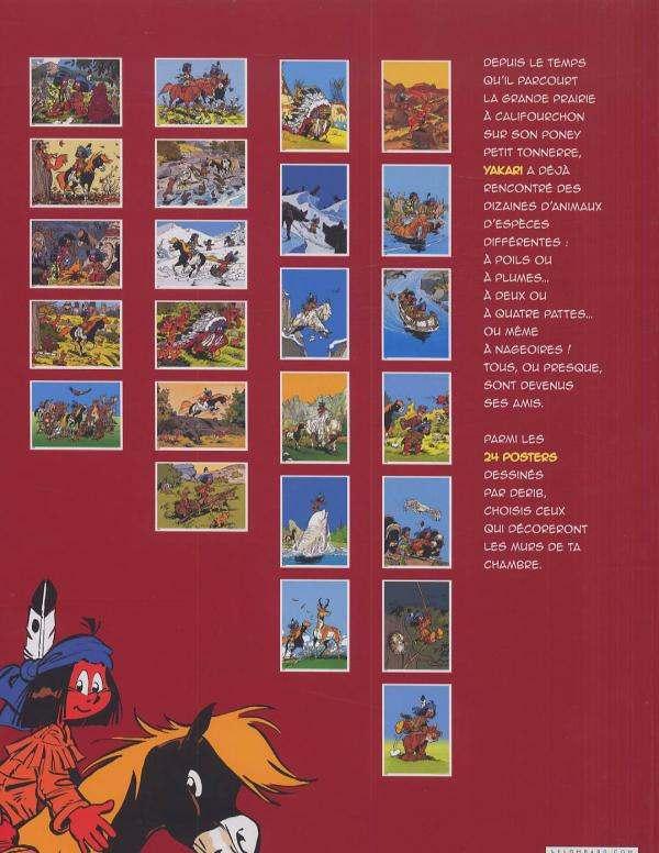 Yakari : L'album poster (0), bd chez Le Lombard de Derib, Job