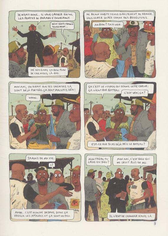 Aya de Yopougon T5, bd chez Gallimard de Abouet, Oubrerie
