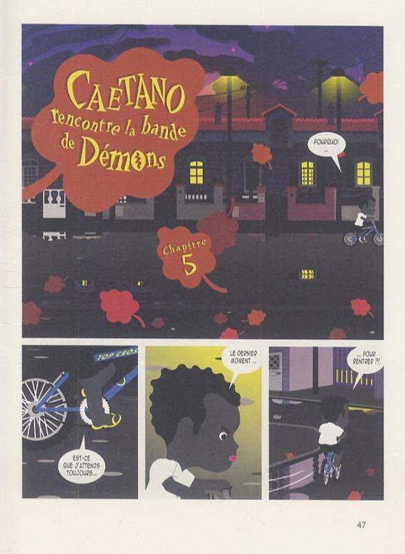 Diables sucrés T1, bd chez Gallimard de Baloup, Jiro