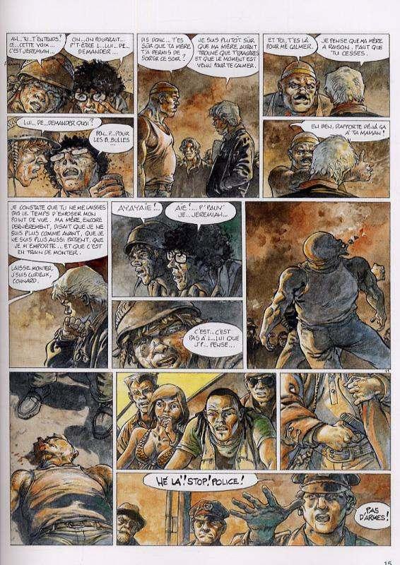 Jeremiah T29 : Le petit chat est mort (0), bd chez Dupuis de Hermann
