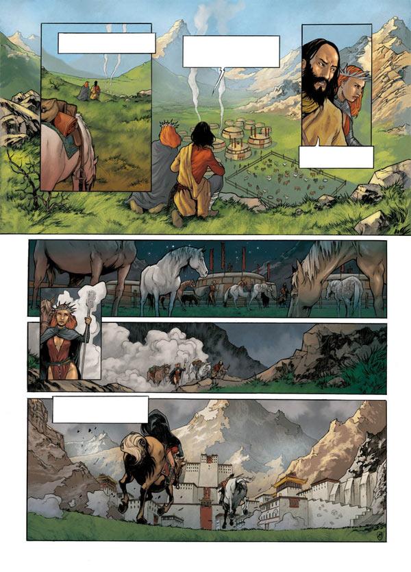 Tengiz T3 : La mort du roi (0), bd chez Emmanuel Proust Editions de Tarek, Morinière