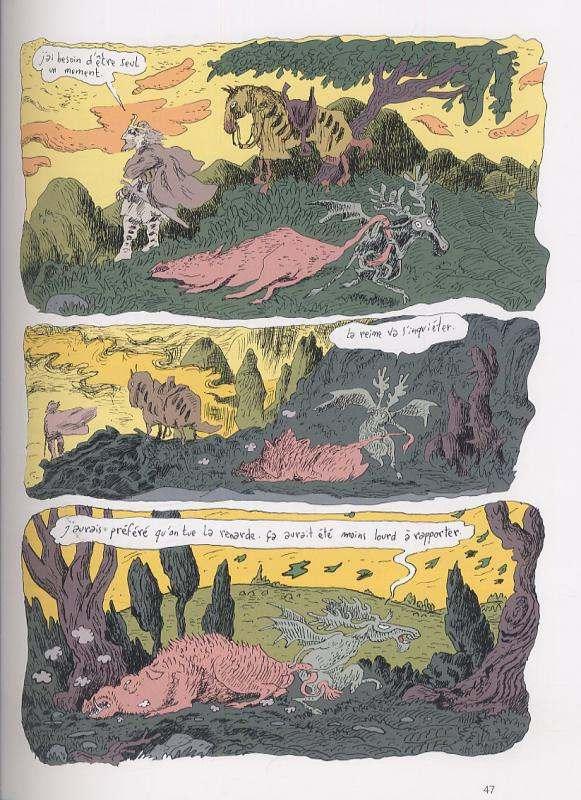 L'ancien temps T1 : Le roi n'embrasse pas (0), bd chez Gallimard de Sfar, Findakly