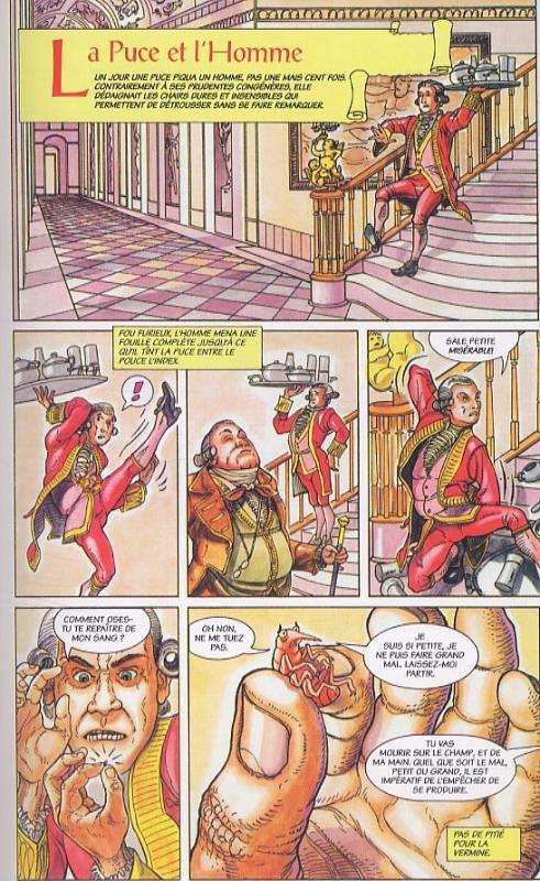Les fables d'Esope, comics chez ¡ éditions ! de Vincent
