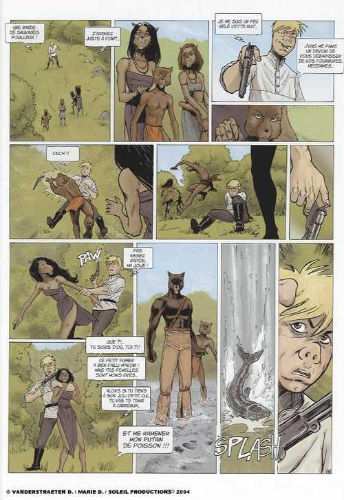 Réglement de contes T3 : Trois cochons (0), bd chez Soleil de Marie, Vanderstraeten