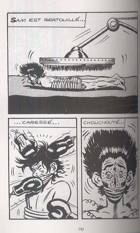 Sam Bot T1, comics chez Delcourt de Franco, Buzzeli