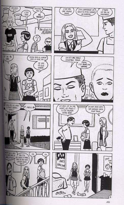 Luba T1, comics chez Delcourt de Hernandez