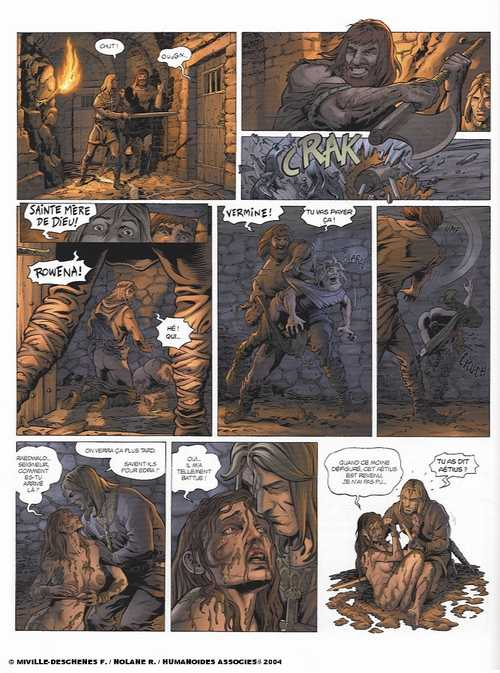 Millénaire T2 : Le squelette des anges (0), bd chez Les Humanoïdes Associés de Nolane, Miville-Deschênes