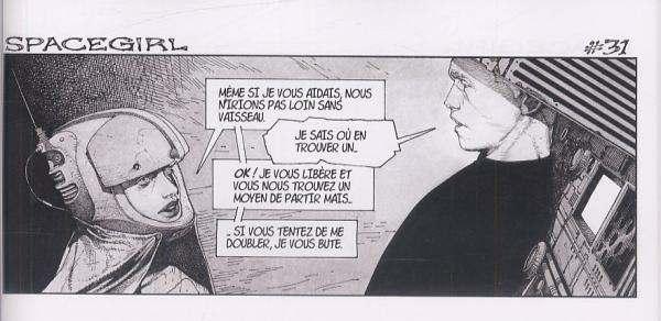 Spacegirl T1, comics chez Carabas de Charest
