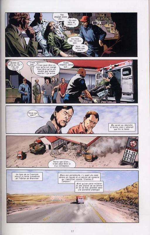 Le fléau T1 : Captain Tripp (0), comics chez Delcourt de King, Aguirre-Sacasa, Perkins, Martin, Bermejo