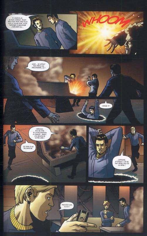 Star Trek T2 : Spock - Réflexions (0), comics chez Delcourt de Messina, Manfredi, Traversi