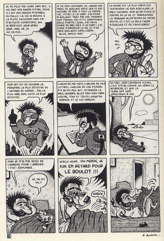 Misery loves comedy, comics chez Cambourakis de Brunetti