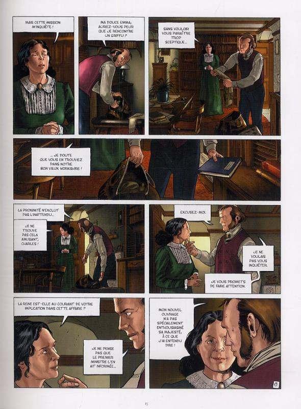 Les carnets de Darwin T1 : L'oeil des celtes (0), bd chez Le Lombard de Runberg, Ocaña, Bellaoui