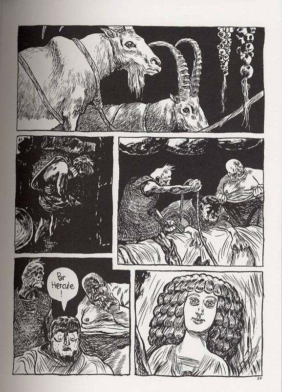 Péplum, bd chez Cornelius de Blutch