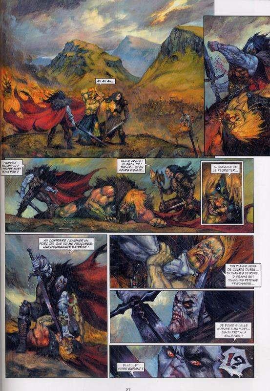 Arawn T3 : La Bataille de Cad Goddun (0), bd chez Soleil de Le Breton, Grenier