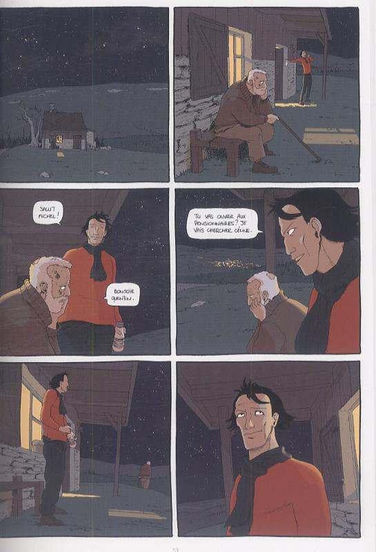Avec Les Morts, comics chez Ankama de Viozat, Raphaelb