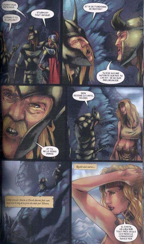 Chroniques de Dragonlance T2 : Dragons d'une nuit d'hiver (0), comics chez Milady Graphics de Dabb, Kurth, Walpole