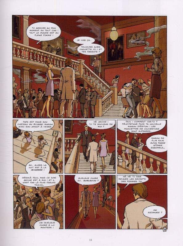 L'ultime chimère T5 : Le livre (0), bd chez Glénat de Bollée, Griffo, Mangin, Pradelle, Langlois