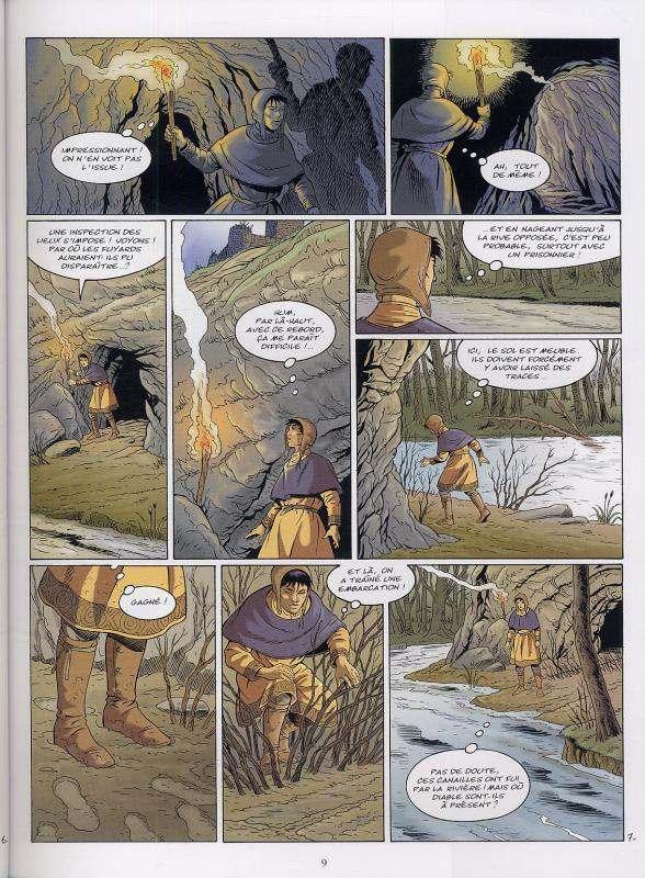 Les aigles décapitées T22 : Sigwald (0), bd chez Glénat de Pierret, Renardy, Pierret