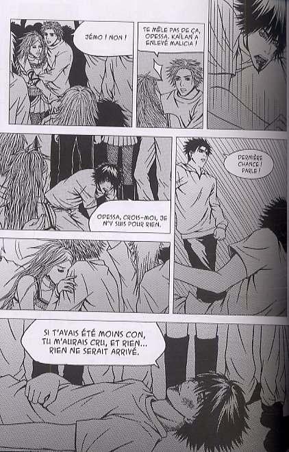 Pity, manga chez Les Humanoïdes Associés de Guibé, Tho