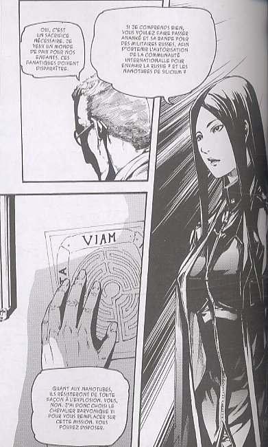 Omega complex T2 : Quasar (0), manga chez Les Humanoïdes Associés de Izu, Shonen