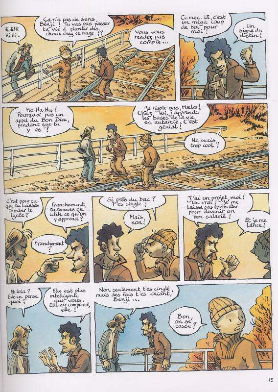 Geronimo T3, bd chez Dupuis de Davodeau, Joub