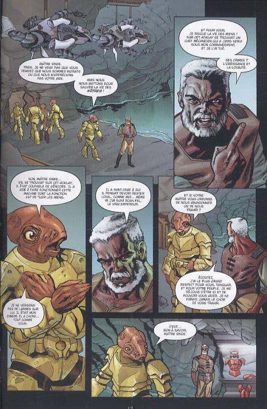 Star Wars Legacy – Legacy, T6 : Renégat (0), comics chez Delcourt de Ostrander, Duursema, Anderson