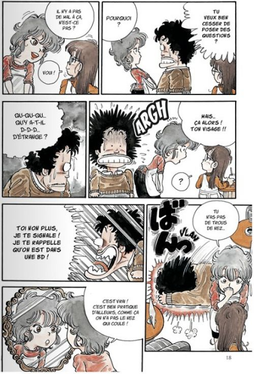 Dr Slump – Ultimate edition, T1, manga chez Glénat de Toriyama