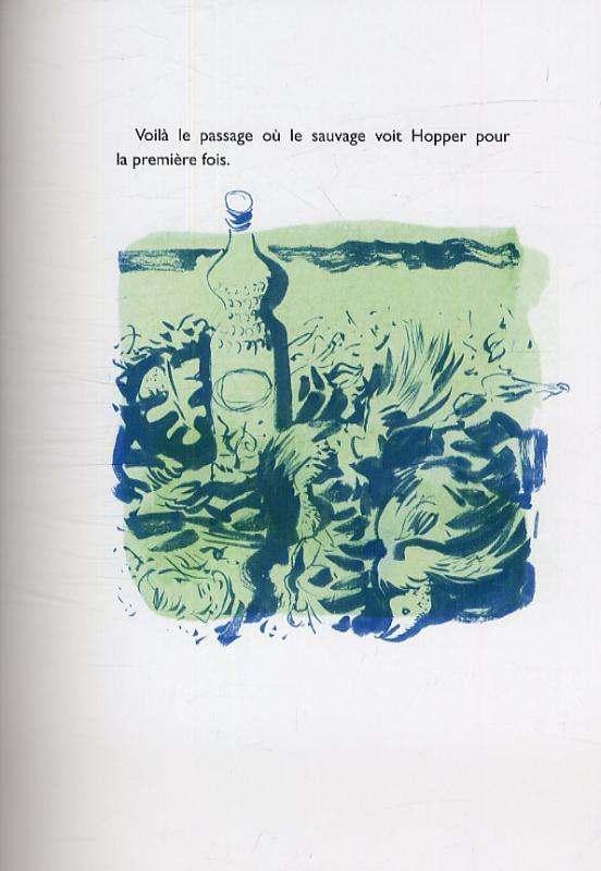 Le sauvage, bd chez Gallimard de Almond, McKean