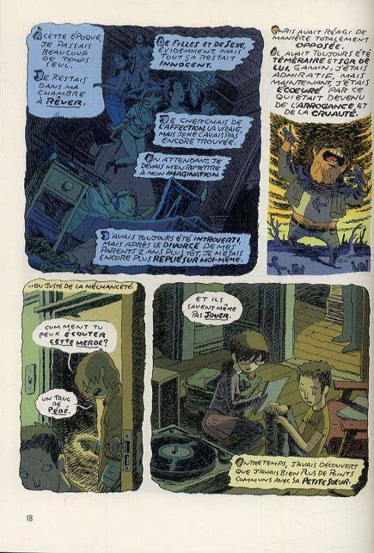 Hair shirt, comics chez Gallimard de McEown